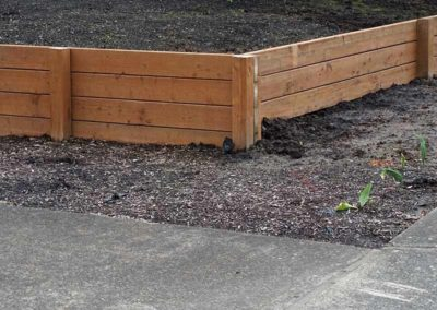 Timber-Retaining-Wall